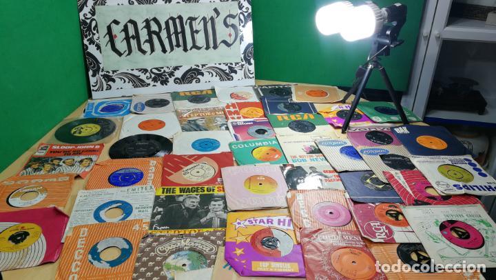 Discos de vinilo: Gran lote de discos pequeños singles, muy variados y raros, unos 43 - Foto 86 - 147718110