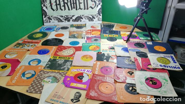 Discos de vinilo: Gran lote de discos pequeños singles, muy variados y raros, unos 43 - Foto 87 - 147718110