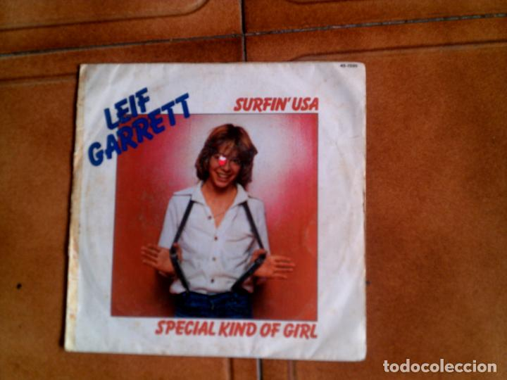 DISCO DE LEIF GARRETT, SURFIN USA Y SPECIAL KIND OF GIRL (Música - Discos - Singles Vinilo - Pop - Rock - Extranjero de los 70)