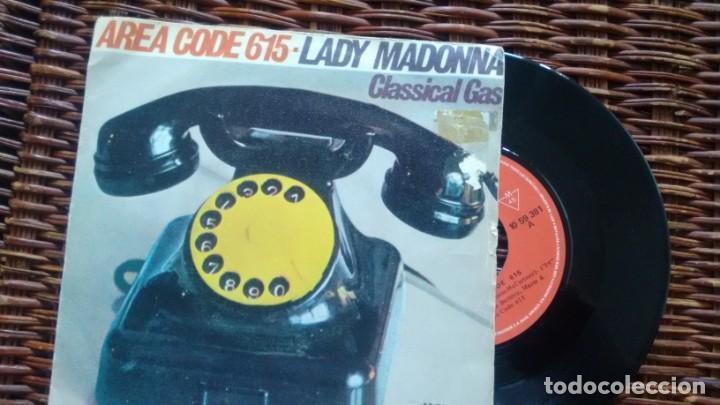 SINGLE (VINILO) DE AREA CODE 615 AÑOS 70 (Música - Discos - Singles Vinilo - Pop - Rock - Extranjero de los 70)