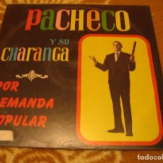 Discos de vinilo: PACHECO Y SU CHARANGA LP POR DEMANDA POPULAR GILMAR VENEZUELA LATIN CHARANGA. Lote 147721618