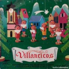 Discos de vinilo: ESCOLANIA DE NTRA SRA. DEL SAGRADO CORAZÓN. VILLANCICOS. ¡AY DEL CHIQUIRRITIN! EP. Lote 147721642