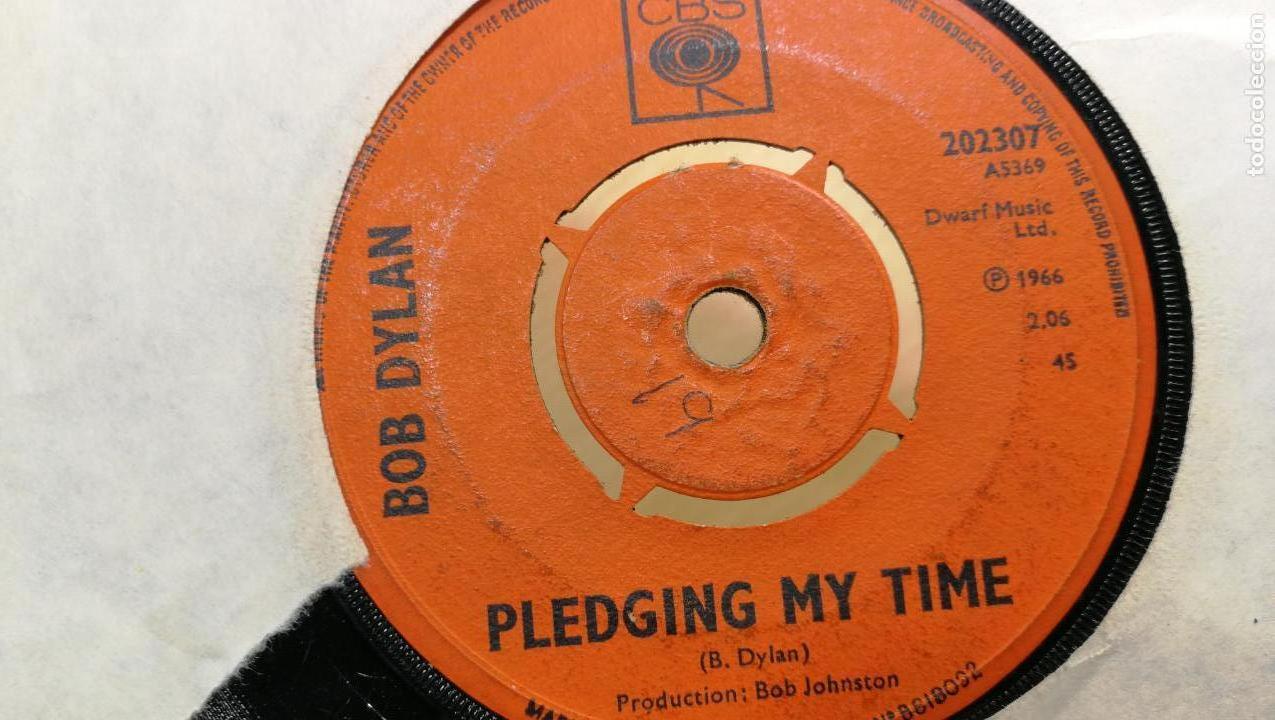Discos de vinilo: Singles disco pequeño dos caras de BOB DYLAN, muy antiguo de 1966 - Foto 3 - 147721862