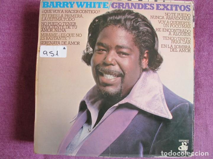 LP - BARRY WHITE - GRANDES EXITOS (SPAIN, 20TH CENTURY RECORDS 1975) (Música - Discos - LP Vinilo - Funk, Soul y Black Music)