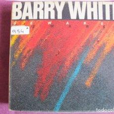Discos de vinilo: LP - BARRY WHITE - BEWARE (SPAIN, UNLIMITED GOLD RECORDS 1981). Lote 147722830