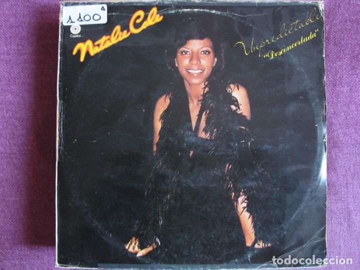 LP - NATALIE COLE - UNPREDICTABLE (SPAIN, CAPITOL RECORDS 1977) (Música - Discos - LP Vinilo - Funk, Soul y Black Music)