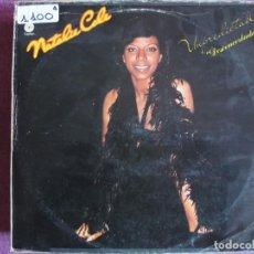 Discos de vinilo: LP - NATALIE COLE - UNPREDICTABLE (SPAIN, CAPITOL RECORDS 1977). Lote 147722958