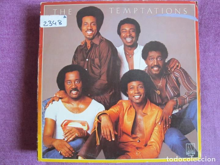 LP - THE TEMPTATIONS - SAME (SPAIN, MOTOWN RECORDS 1981) (Música - Discos - LP Vinilo - Funk, Soul y Black Music)
