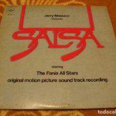 Discos de vinilo: FANIA ALL STARS DOBLE LP SALSA BSO HÉCTOR LAVOE VENEZUELA 1976 BOOGALOO MAMBO. Lote 147723118
