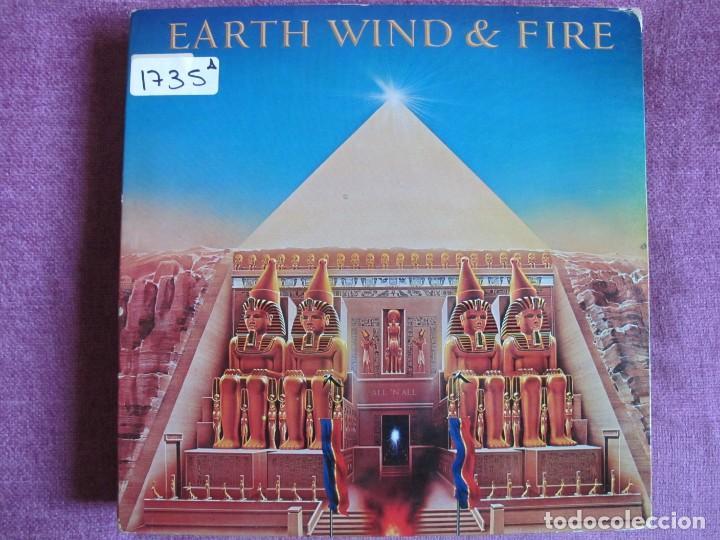 LP - EARTH, WIND AND FIRE - ALL N ALL (SPAIN, CBS 1978, PORTADA DOBLE) (Música - Discos - LP Vinilo - Funk, Soul y Black Music)