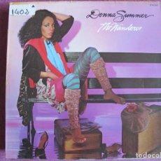 Discos de vinilo: LP - DONNA SUMMER - THE WANDERER (SPAIN, GEFFEN RECORDS 1980). Lote 147723702