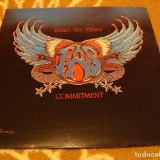 Discos de vinilo: FANIA ALL STARS LP COMMITMENT HÉCTOR LAVOE FANIA FRANCIA 1980 SALSA DISCO. Lote 147723834