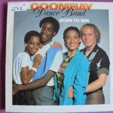 Discos de vinilo: LP - GOOMBAY DANCE BAND - BORN TO WIN (SPAIN, CBS 1982). Lote 147725022