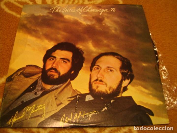 THE VOICES OF CHARANGA 76 LP HANSEL MARTINEZ RAÚL ALFONSO TR VENEZUELA 1978 LATIN BOLERO (Música - Discos - LP Vinilo - Grupos y Solistas de latinoamérica)