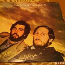 Discos de vinilo: THE VOICES OF CHARANGA 76 LP HANSEL MARTINEZ RAÚL ALFONSO TR VENEZUELA 1978 LATIN BOLERO. Lote 147725138