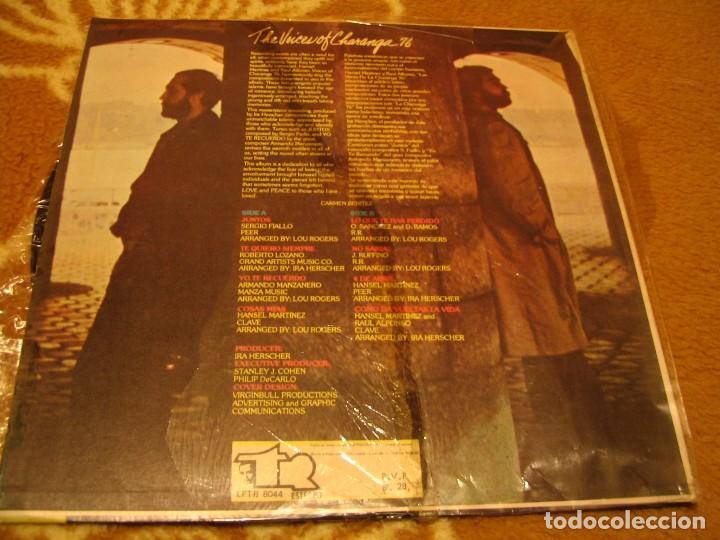 Discos de vinilo: THE VOICES OF CHARANGA 76 LP HANSEL MARTINEZ RAÚL ALFONSO TR VENEZUELA 1978 LATIN BOLERO - Foto 2 - 147725138