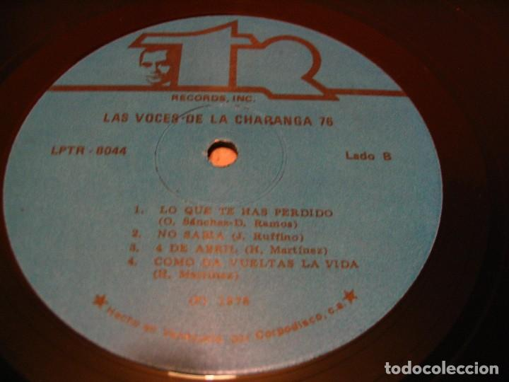 Discos de vinilo: THE VOICES OF CHARANGA 76 LP HANSEL MARTINEZ RAÚL ALFONSO TR VENEZUELA 1978 LATIN BOLERO - Foto 3 - 147725138