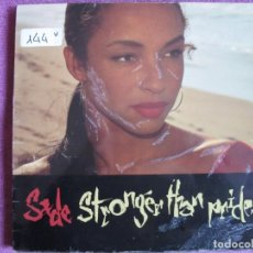 Discos de vinilo: LP - SADE - STRONGER THAN PRIDE (SPAIN, CBS 1988). Lote 147725338