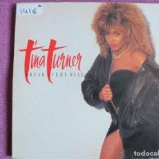 Discos de vinilo: LP - TINA TURNER - BREAK EVERY RULE (SPAIN, CAPITOL RECORDS 1986). Lote 147725478