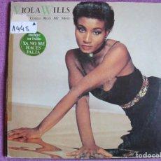 Discos de vinilo: LP - VIOLA WILLS - COULD READ MY MIND (SPAIN, ARIOLA RECORDS 1980). Lote 147725710
