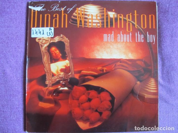 LP - DINAH WASHINGTON - MAD ABOUT THE BOY (SPAIN, MERCURY RECORDS 1992) (Música - Discos - LP Vinilo - Funk, Soul y Black Music)