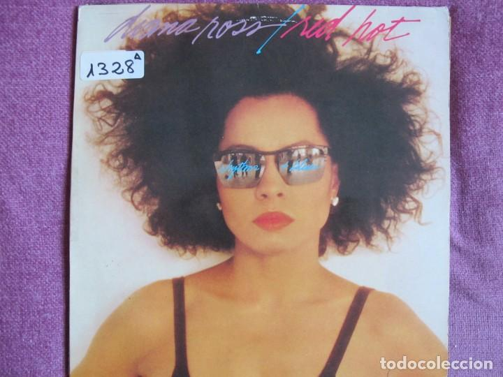 LP - DIANA ROSS - RED HOT (SPAIN, EMI RECORDS 1987) (Música - Discos - LP Vinilo - Funk, Soul y Black Music)