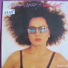 Discos de vinilo: LP - DIANA ROSS - RED HOT (SPAIN, EMI RECORDS 1987). Lote 147726010