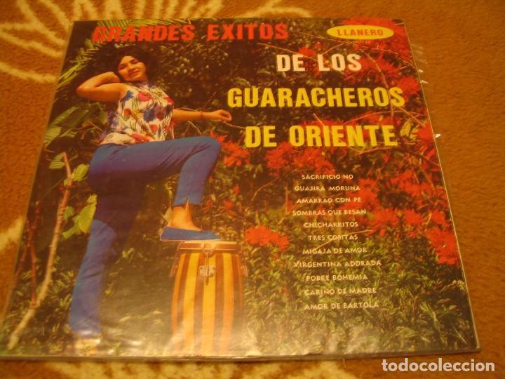 LOS GUARACHEROS DE ORIENTE LP GRANDES ÉXITOS LLANERO VENEZUELA GUARACHA (Música - Discos - LP Vinilo - Grupos y Solistas de latinoamérica)