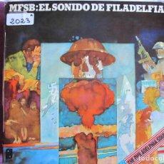 Discos de vinilo: LP - MFSB - EL SONIDO DE FILADELFIA (SPAIN, PI RECORDS 1974). Lote 147726882