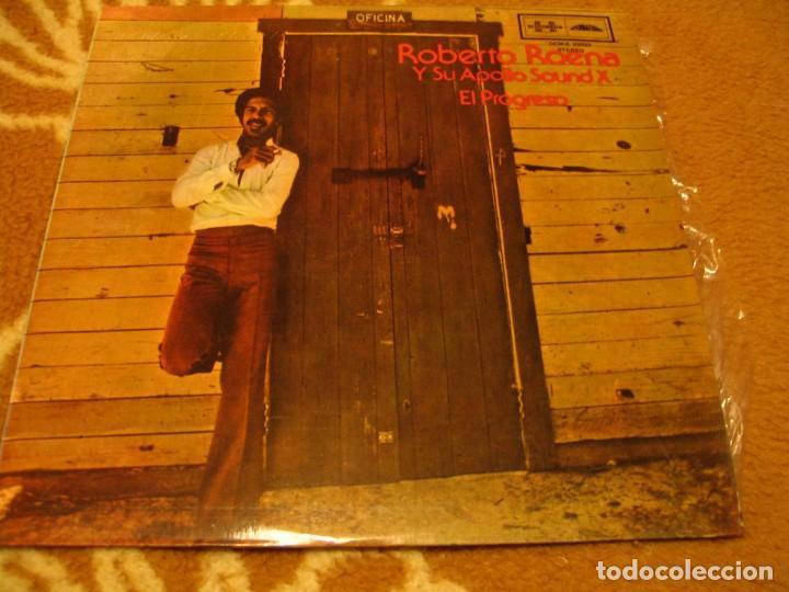 ROBERTO ROENA Y SU APOLLO SOUND X LP EL PROGRESO DISCOMODA COLOMBIA 1977 LATIN SALSA (Música - Discos - LP Vinilo - Grupos y Solistas de latinoamérica)