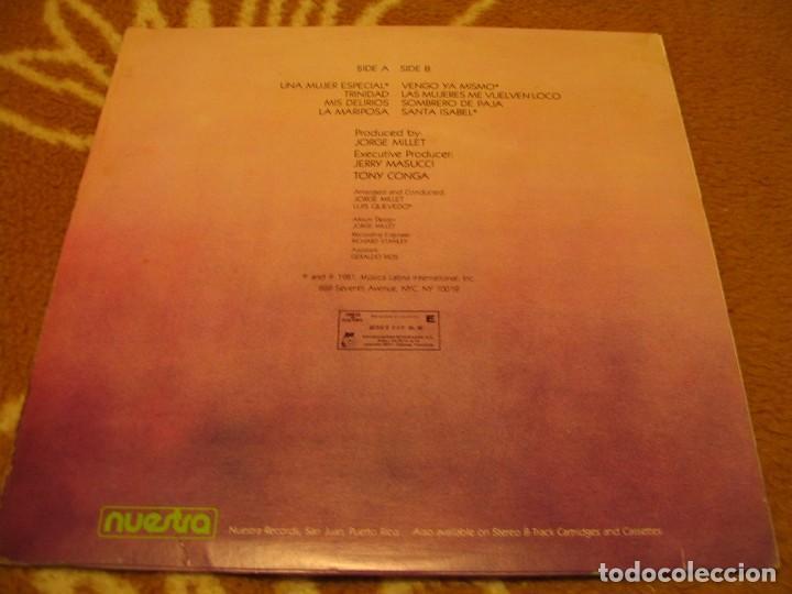 Discos de vinilo: LUIGI TEXIDOR LP BETÚN NEGRO NUESTRA VENEZUELA 1981 SALSA PLENA SON - Foto 2 - 147728258