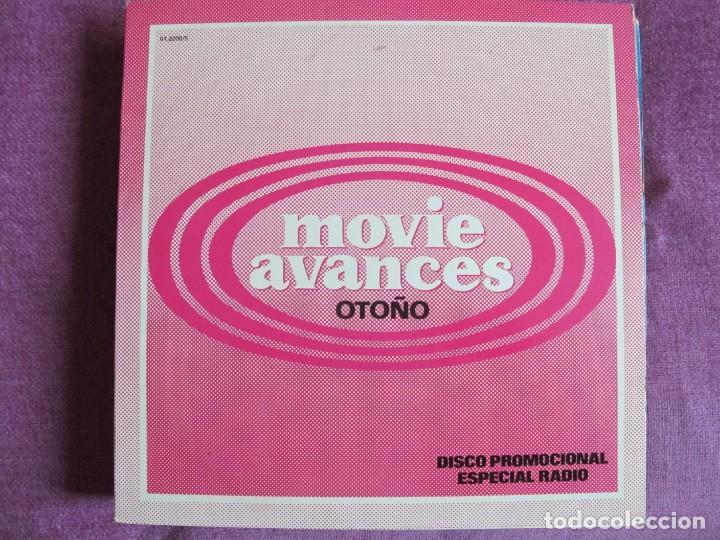 LP - MOVIE AVANCE OTOÑO - VARIOS (PROMOCIONAL ESPAÑOL, MOVIEPLAY 1982,VER FOTO ADJUNTA) (Música - Discos - LP Vinilo - Solistas Españoles de los 70 a la actualidad)
