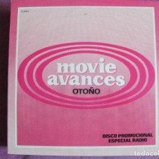 Discos de vinilo: LP - MOVIE AVANCE OTOÑO - VARIOS (PROMOCIONAL ESPAÑOL, MOVIEPLAY 1982,VER FOTO ADJUNTA). Lote 147729550