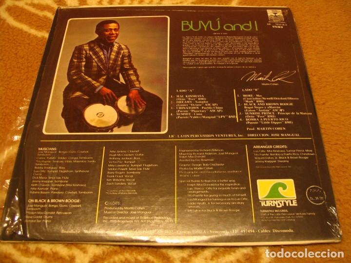 Discos de vinilo: JOSÉ MANGUAL LP BUYÚ DISCOMODA VENEZUELA LATIN JAZZ CHA-CHA - Foto 2 - 147730622