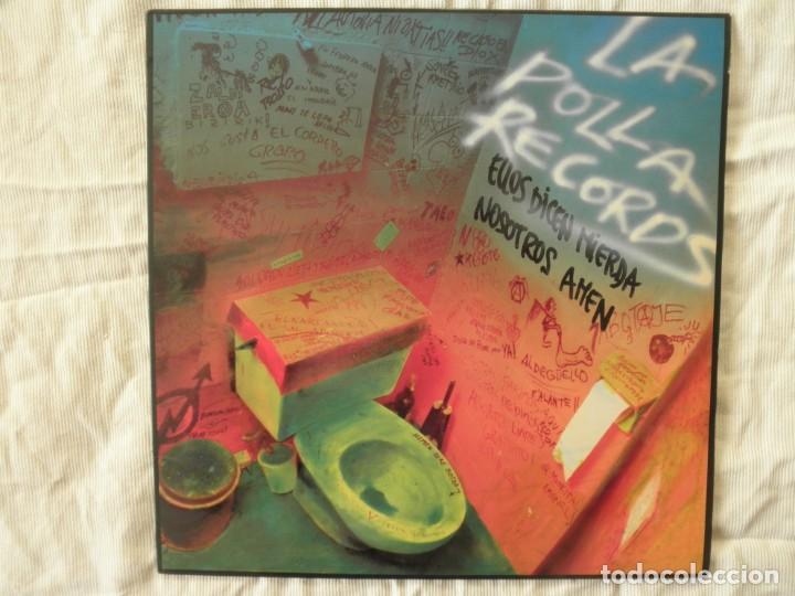 LA POLLA RECORDS ELLOS DICEN MIERDA NOSOTROS AMEN (Música - Discos - LP Vinilo - Grupos Españoles de los 70 y 80)