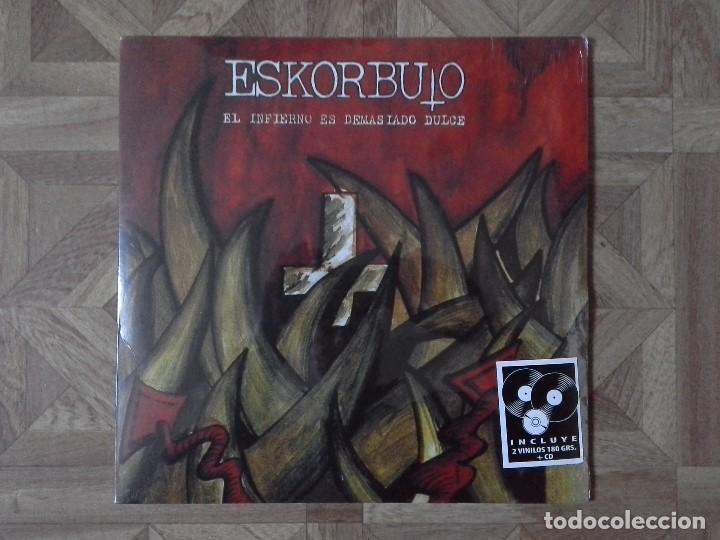 ESKORBUTO - EL INFIERNO ES DEMASIADO DULCE - REEDICIÓN LP 1996 - PRECINTADO (Música - Discos - LP Vinilo - Otros estilos)