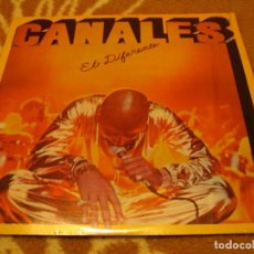 Discos de vinilo: ÁNGEL CANALES LP EL DIFERENTE INTEGRA VENEZUELA 1981 AFRO CUBANO LATIN JAZZ . Lote 147731690