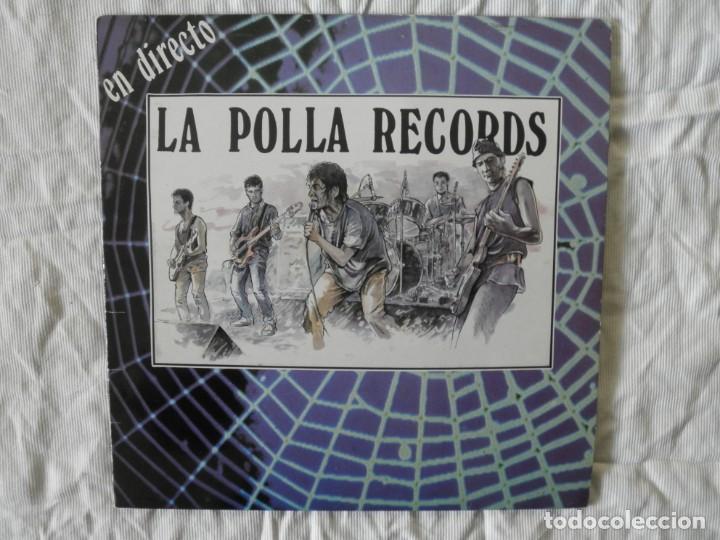 LA POLLA RECORDS EN DIRECTO (Música - Discos - LP Vinilo - Grupos Españoles de los 70 y 80)