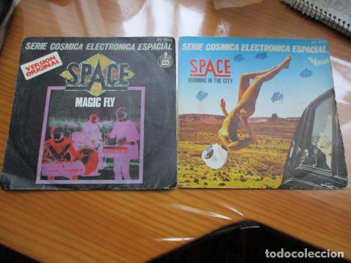 SPACE - LOTE DE DOS (Música - Discos - Singles Vinilo - Pop - Rock - Extranjero de los 70)