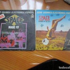 Discos de vinilo: SPACE - LOTE DE DOS. Lote 147732122