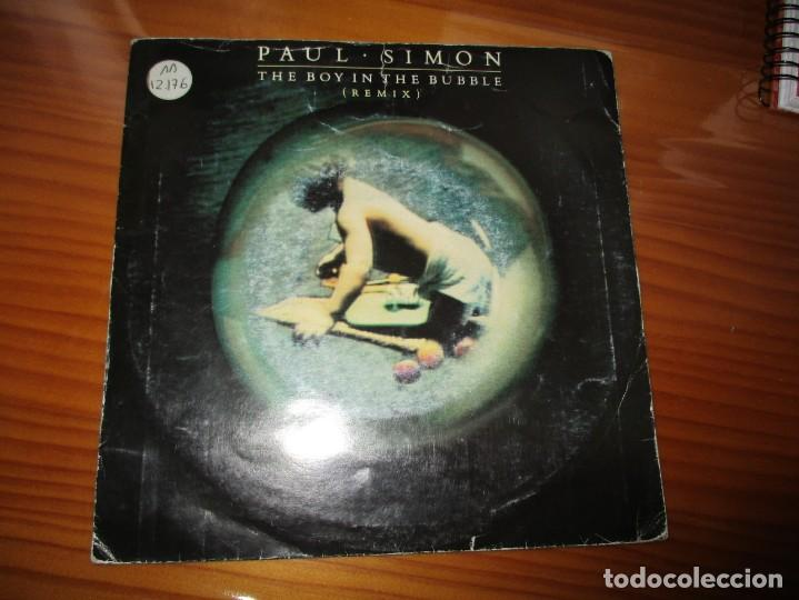 PAUL SIMON - THE BOY IN THE BUBBLE (Música - Discos - Singles Vinilo - Pop - Rock - Extranjero de los 70)