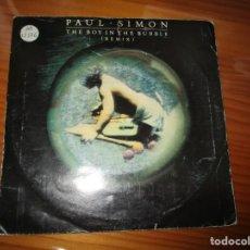 Discos de vinilo: PAUL SIMON - THE BOY IN THE BUBBLE. Lote 147732346