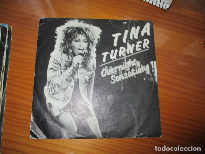 TINA TURNER - OVERNIGHT SENSATION (Música - Discos - Singles Vinilo - Pop - Rock - Extranjero de los 70)