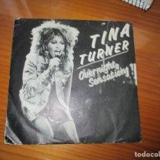 Discos de vinilo: TINA TURNER - OVERNIGHT SENSATION. Lote 147732750