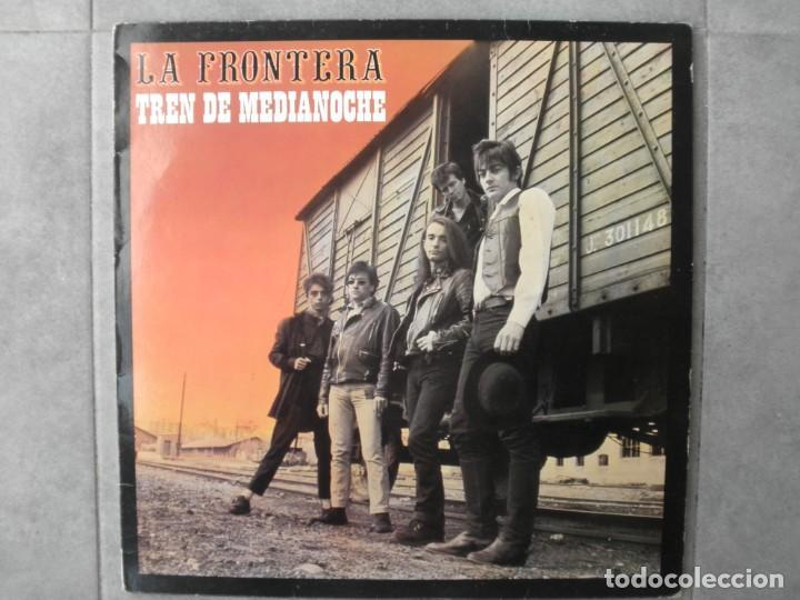 LA FRONTERA TREN DE MEDIANOCHE (Música - Discos - LP Vinilo - Grupos Españoles de los 70 y 80)