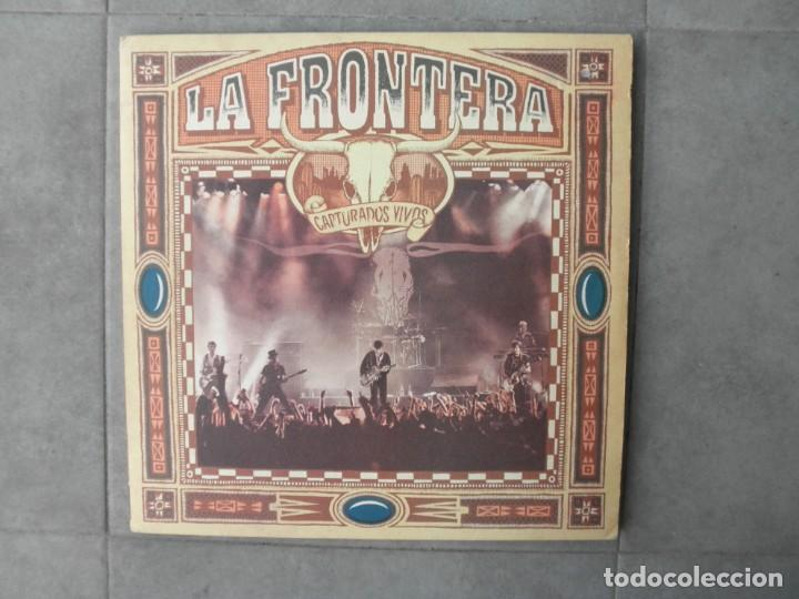 LA FRONTERA CAPTURADOS VIVOS (Música - Discos - LP Vinilo - Grupos Españoles de los 70 y 80)