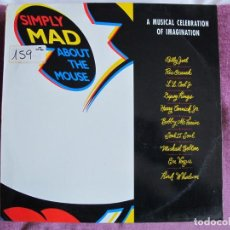 Discos de vinilo: LP - SIMPLY MAD ABOUT THE MOUSE - VARIOS (SPAIN, CBS/SONY 1991, VER FOTO ADJUNTA). Lote 147733986