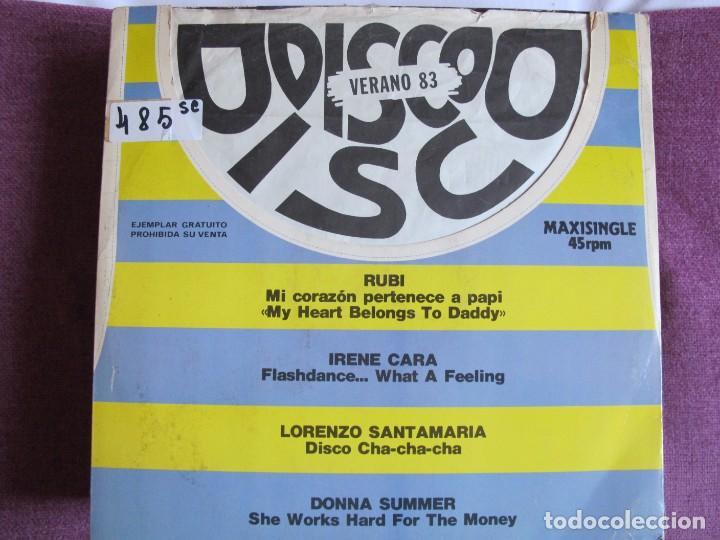 MAXI - DISCO VERANO 83 - VARIOS (PROMO ESPAÑOL, PHILIPS 1983) (Música - Discos de Vinilo - Maxi Singles - Solistas Españoles de los 70 a la actualidad)