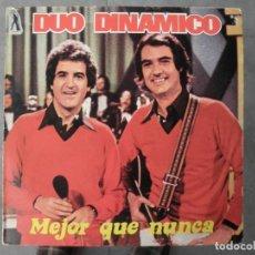 Discos de vinilo: DUO DINAMICO MEJOR QUE NUNCA. Lote 147734942