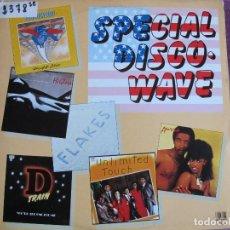 Discos de vinilo: LP - SPECIAL DISCO WAVE - VARIOS (SPAIN, BELTER 1983, VER FOTO ADJUNTA). Lote 147735922